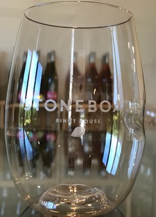 Govino Wine Glass (Stoneboat Labelled)